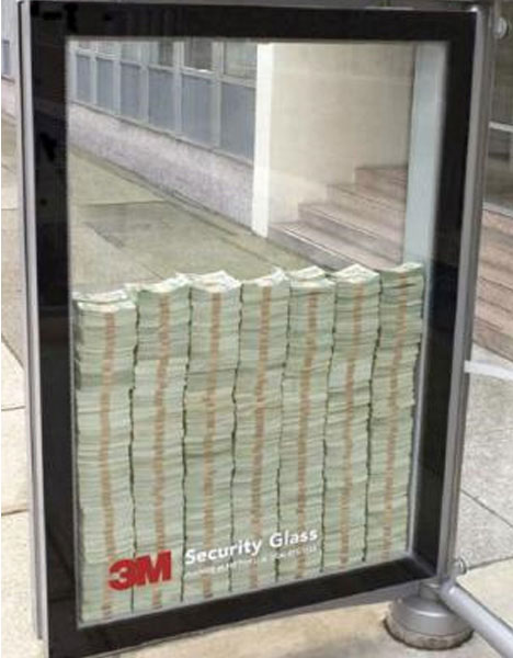 guerrilla-marketing-3m-security-glass-money