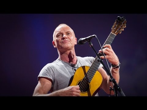 "Ted Talk Tuesday with ""Sting: How I started writing song again"""